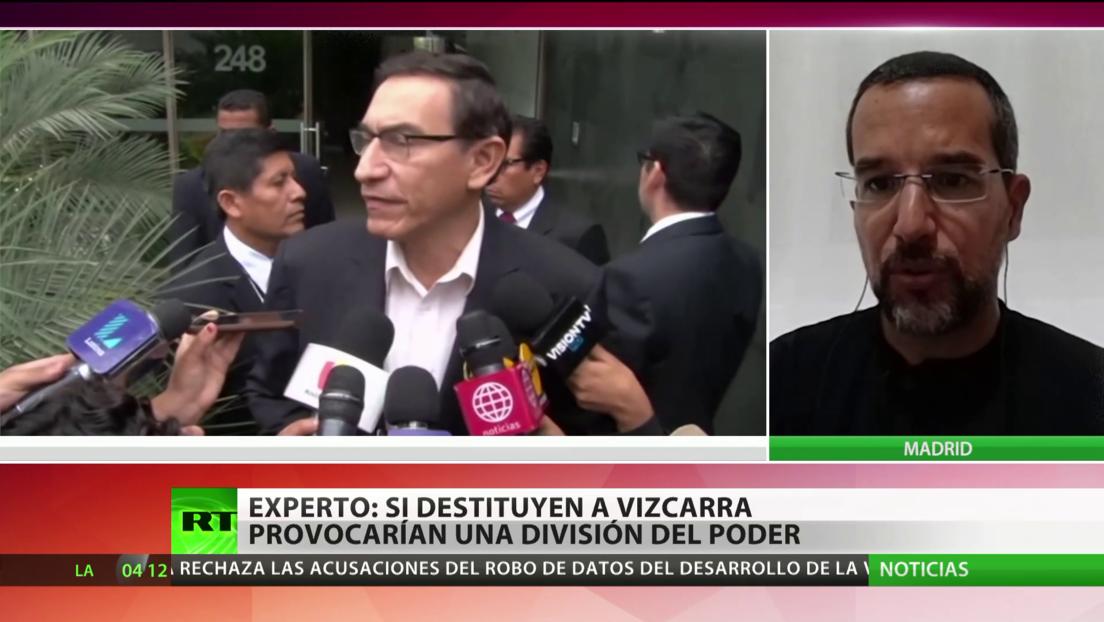 Experto: Si destituyen a Vizcarra provocarían una división del poder en Perú