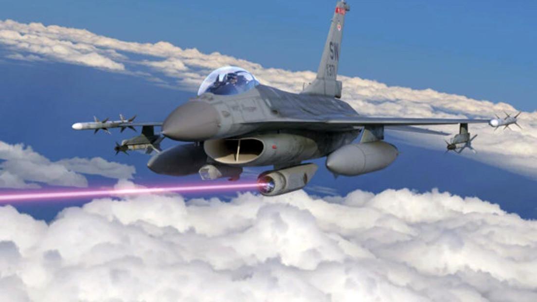 EE.UU. dotará de protección láser a sus aviones de combate en 2025 (VIDEO)