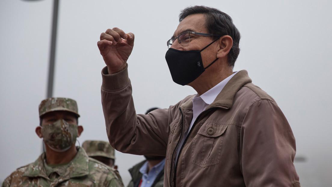 Congreso de Perú rechaza el pedido de vacancia contra el presidente Martín Vizcarra