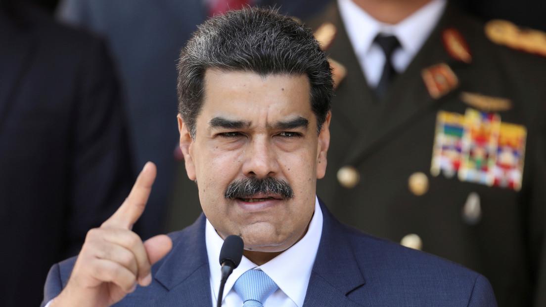 """Maduro denuncia que EE.UU. tiene nuevos planes """"para perturbar gravemente la paz"""" de Venezuela"""