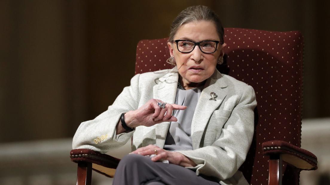Muere a los 87 años la jueza de la Corte Suprema de EE.UU., Ruth Bader Ginsburg