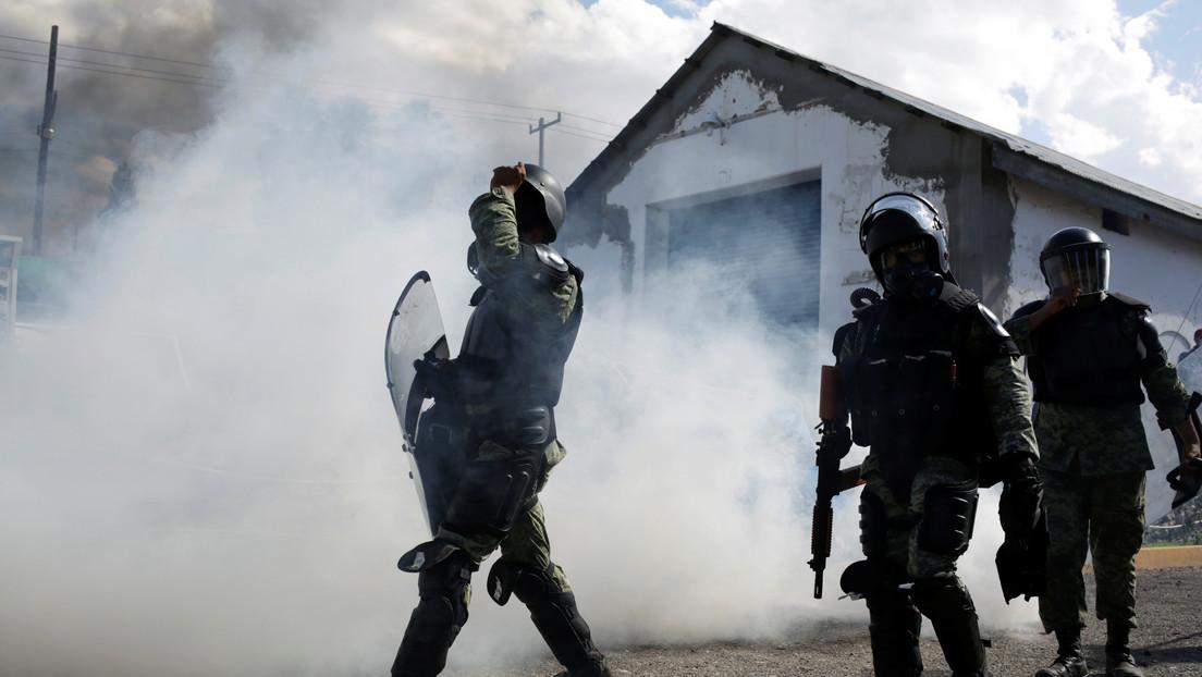 La Guardia Nacional de México confirma que disparó por accidente a una mujer que murió en una protesta por el agua en Chihuahua