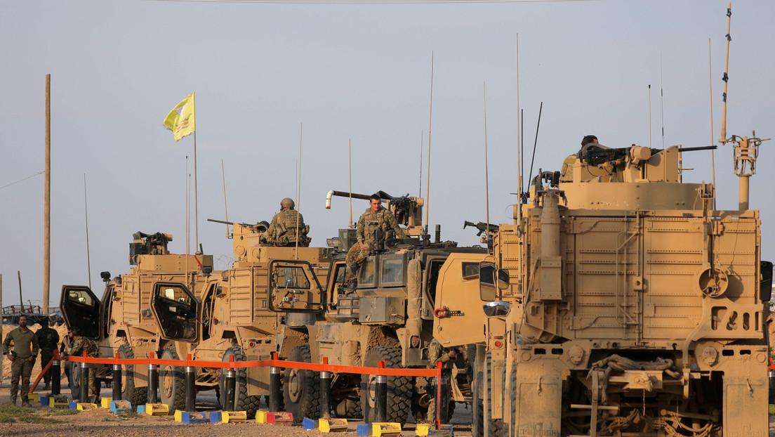 EE.UU. despliega vehículos blindados en Siria e intensifica las patrullas aéreas después del enfrentamiento con las fuerzas rusas