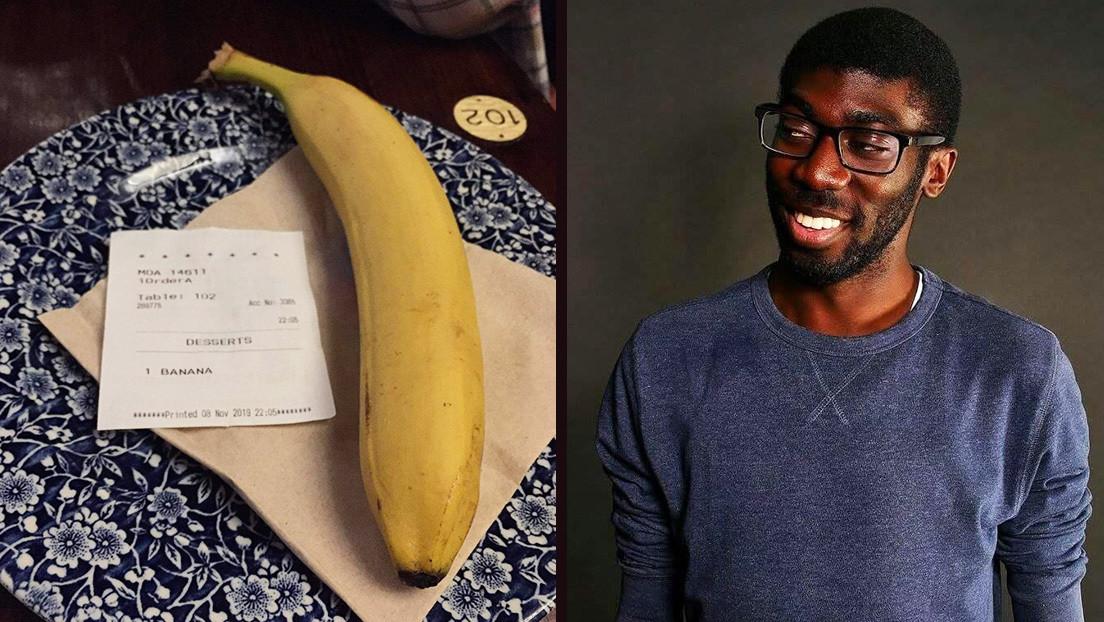 Acusan de crimen de odio a un cliente que pidió una banana a la mesa de un hombre negro en un bar