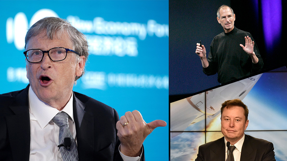 """""""No los confundirías en una habitación"""": Bill Gates explica por qué Elon Musk no es """"el próximo Steve Jobs"""""""