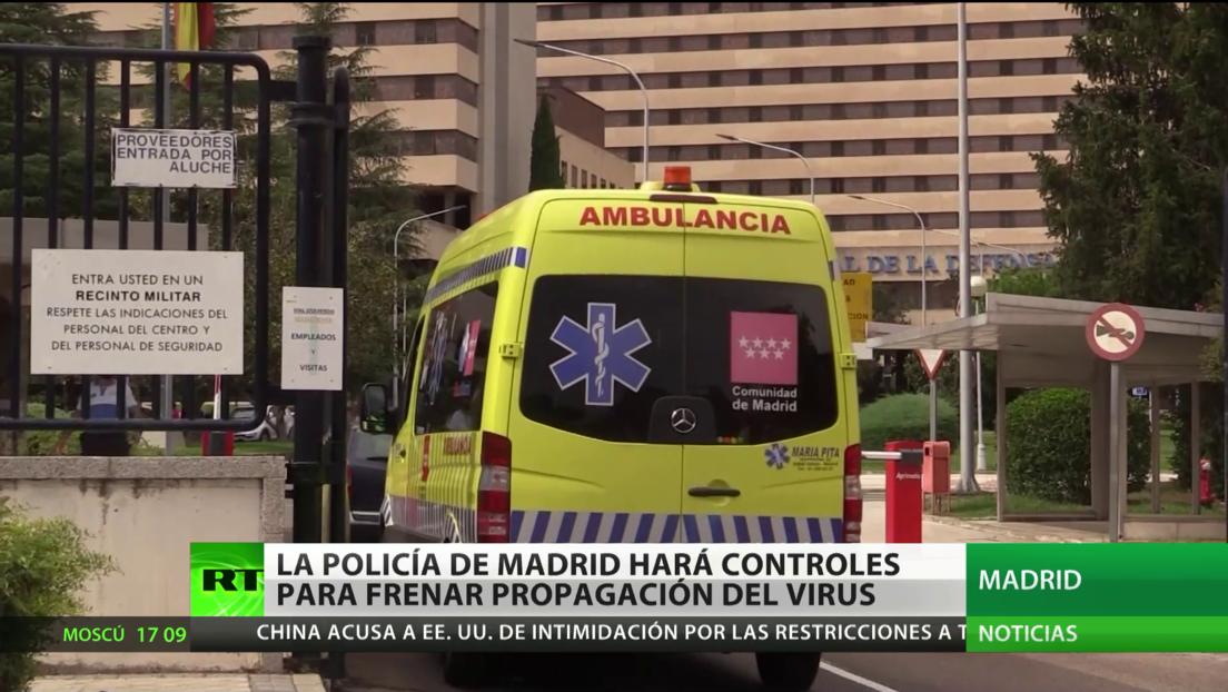 La Policía de Madrid hará controles para frenar la propagación del coronavirus