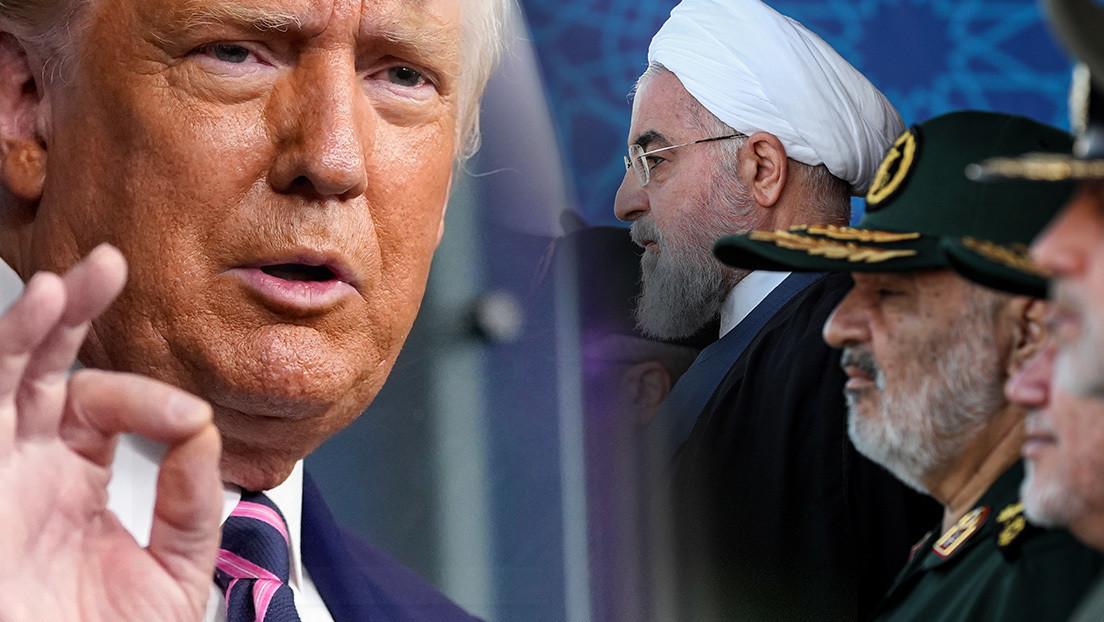 "Comandante de Irán a Trump: ""Si un pelo cae de la cabeza de un iraní, le volaremos la pelusa"""