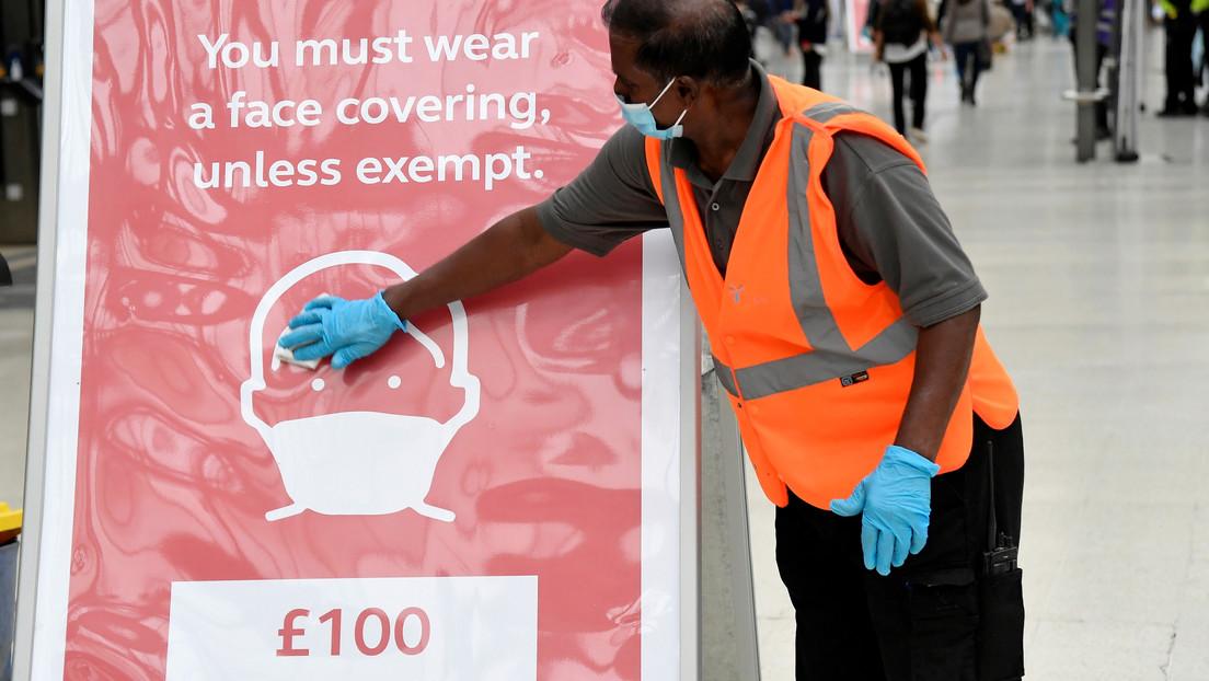 Estudio: Casi un tercio de las muertes por covid-19 registradas en el Reino Unido se debieron a otras causas