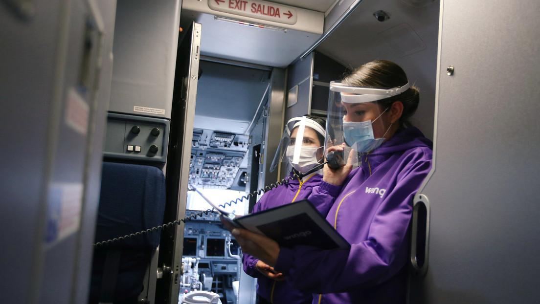 """""""El riesgo en vuelos largos es real"""": Nuevos estudios demuestran que el coronavirus se transmite en aviones"""