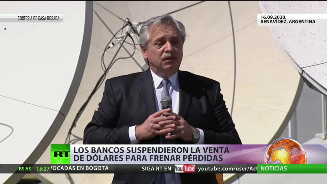 Argentina: Los bancos suspenden la venta de dólares para frenar pérdida de reservas del Banco Central
