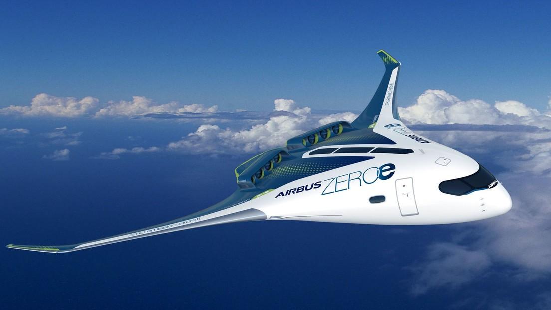 Cero emisiones: Airbus presenta tres diseños de aeronaves propulsadas por hidrógeno