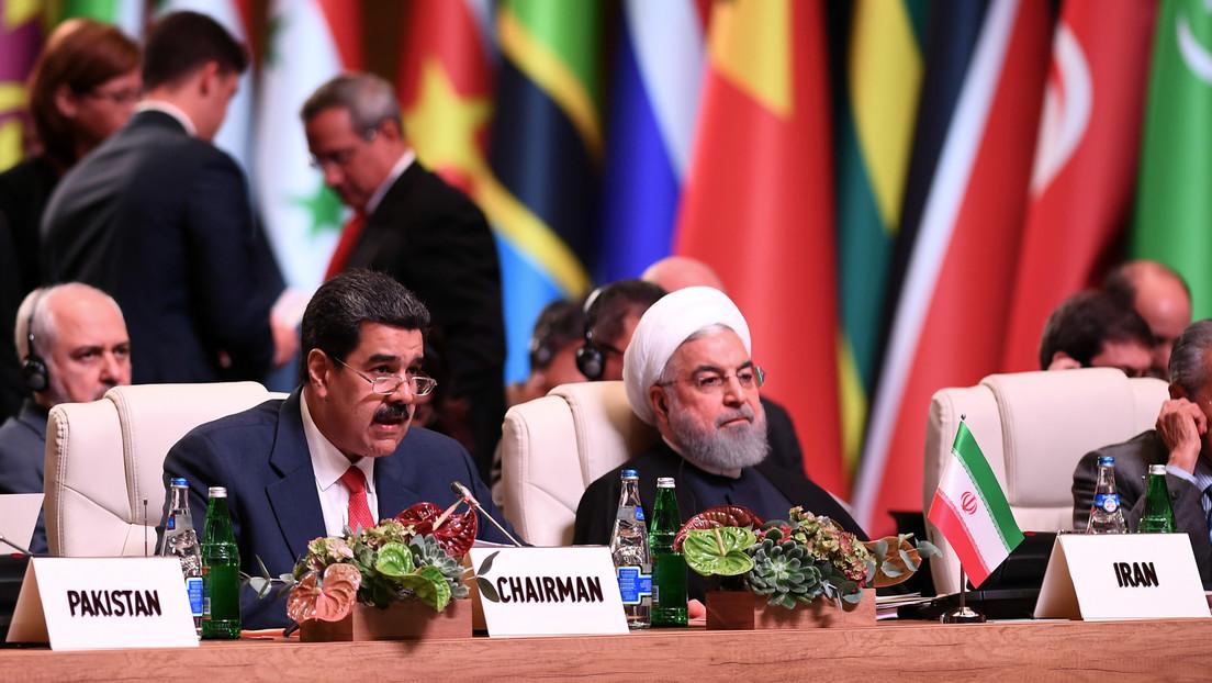 """Caracas rechaza las sanciones al presidente Maduro anunciadas por EE.UU. """"como parte de una campaña sostenida de agresiones contra Irán y Venezuela"""""""