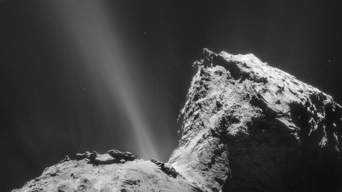 """Descubren por primera vez una aurora """"sorprendente y fascinante"""" sobre un cometa"""