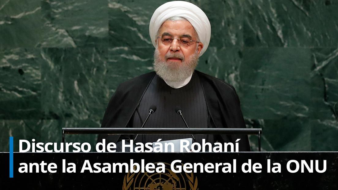 """Rohaní: """"EE.UU. no puede imponer negociaciones ni guerras a Teherán"""""""
