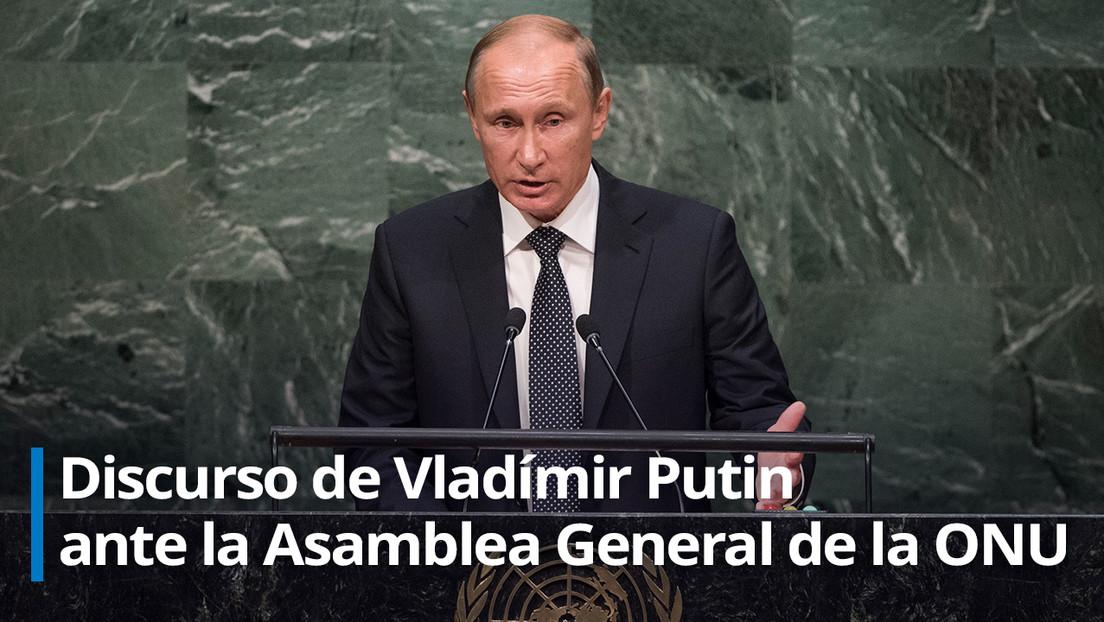 """Putin: """"Rusia está dispuesta a colaborar en la lucha contra el coronavirus y propone celebrar una conferencia sobre el desarrollo de una vacuna"""""""