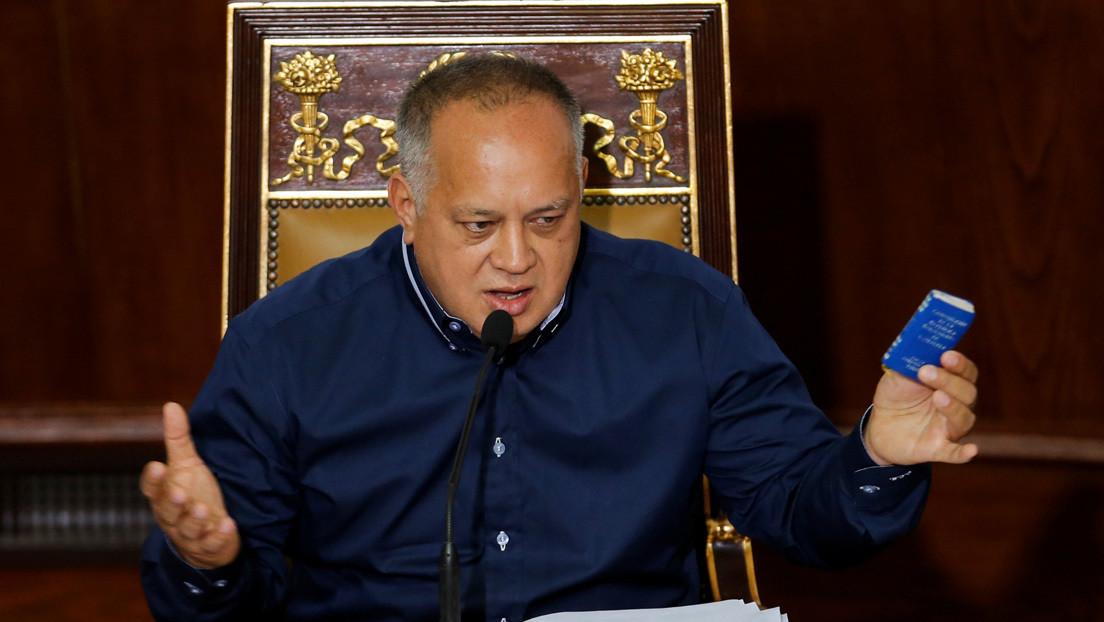 """Cabello alerta sobre los planes de EE.UU. para """"generar violencia"""" antes de los comicios legislativos en Venezuela"""