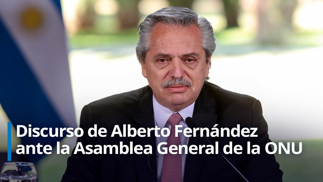 """Alberto Fernández llama a """"recrear un multilateralismo solidario"""" para superar la crisis económica y sanitaria por el covid-19"""