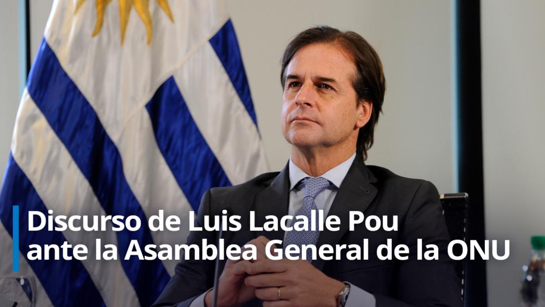 """Lacalle Pou pide ante la ONU """"mancomunar conocimientos, propiedad intelectual y datos"""" para vencer la pandemia"""