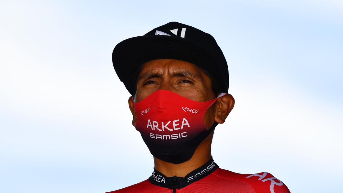 El ciclista colombiano Nairo Quintana rompe su silencio después de la sospecha de dopaje en el Tour de Francia