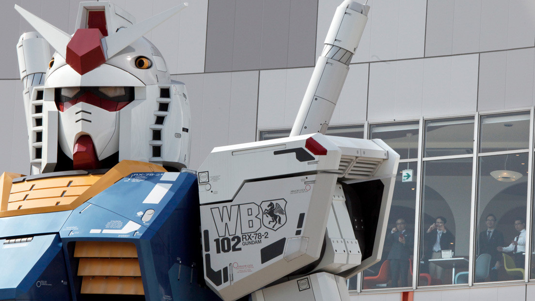 VIDEO: Crean un robot gigante inspirado en la serie animada Gundam