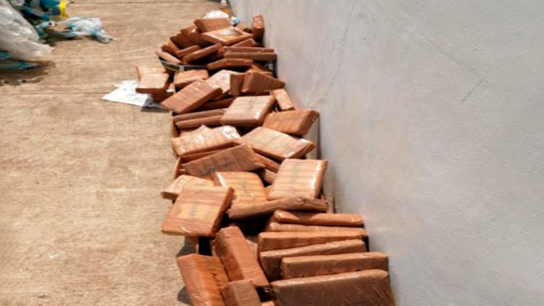 Autoridades mexicanas decomisan más de 600 kilos de cocaína en un puesto aduanero al sur del país