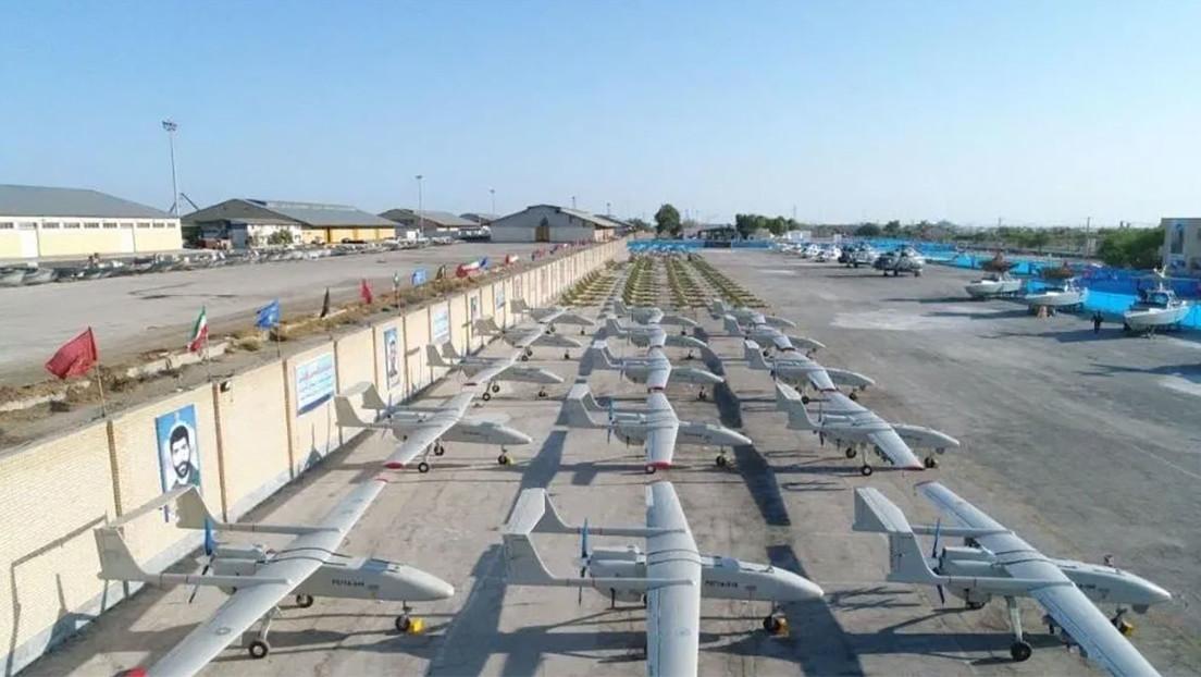 La Armada de los Cuerpos de la Guardia Revolucionaria de Irán recibe 188 helicópteros y drones de fabricación nacional