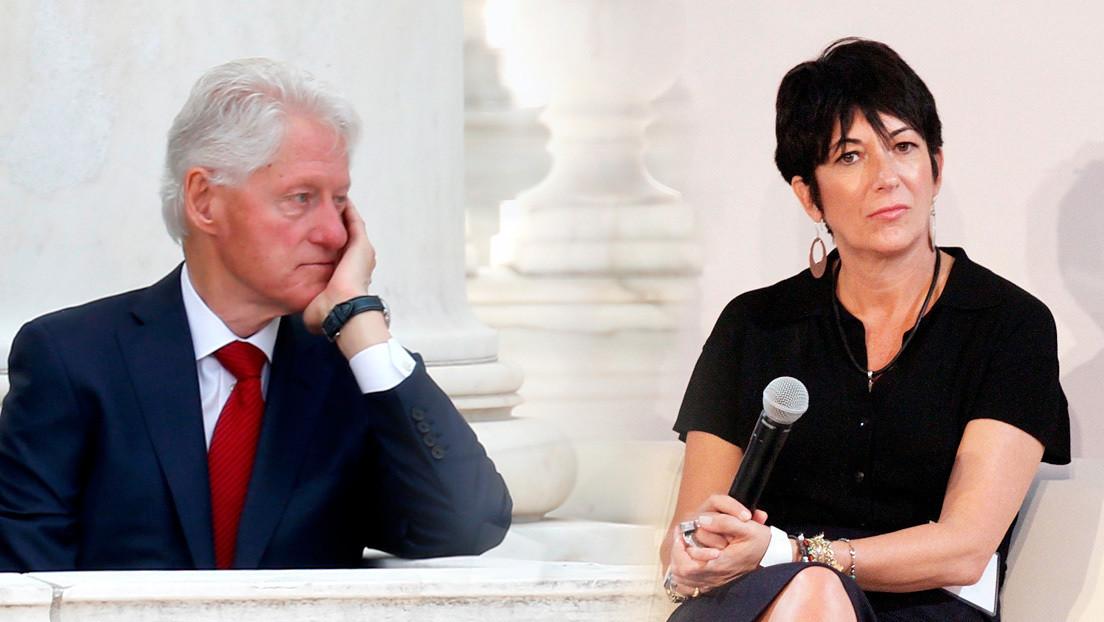 """Reportan que Bill Clinton participó de una """"cena íntima"""" con Ghislaine Maxwell en 2014"""