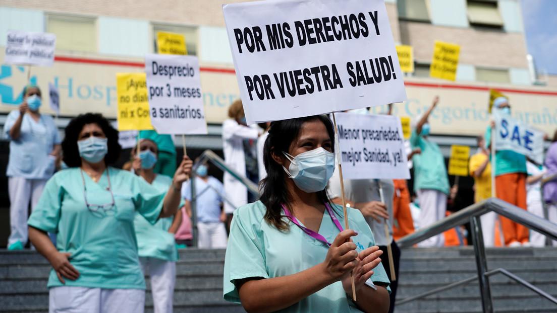 """""""Lo importante es que el recurso lo tienes, pero lo estás ignorando"""": Médicos venezolanos ofrecen su ayuda para frenar el coronavirus en España"""