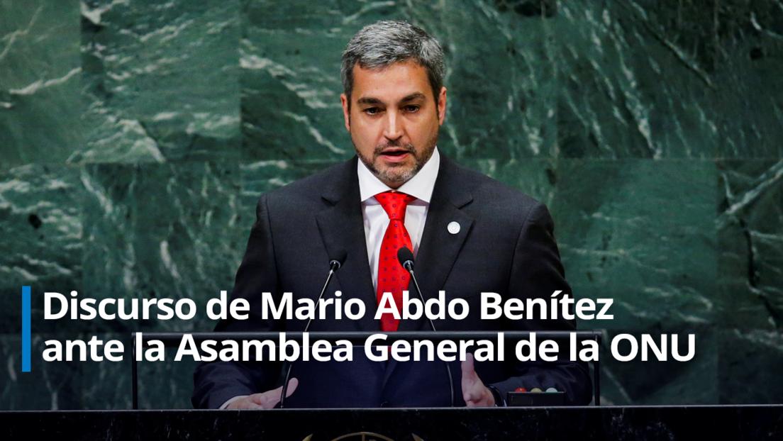 """Presidente de Paraguay defiende las acciones de su Gobierno contra """"el terrorismo y los grupos criminales"""" en su país"""