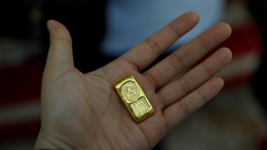 El precio del oro cae a su nivel más bajo en dos meses