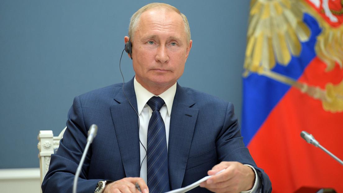 Nominan a Vladímir Putin para el Premio Nobel de la Paz