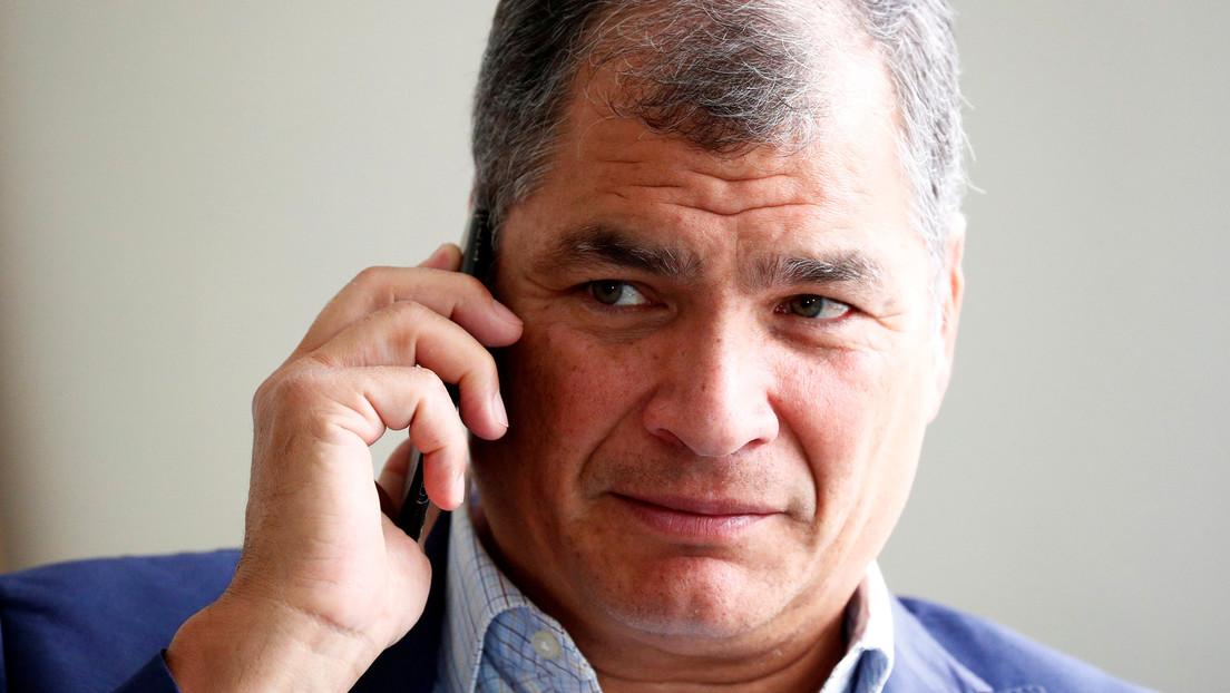 """El abogado de Rafael Correa denuncia """"un proceso de venganza"""" contra el expresidente por vía judicial"""