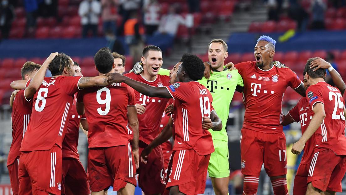 El Bayern de Múnich se lleva la Supercopa de Europa tras vencer al Sevilla en un partido de infarto