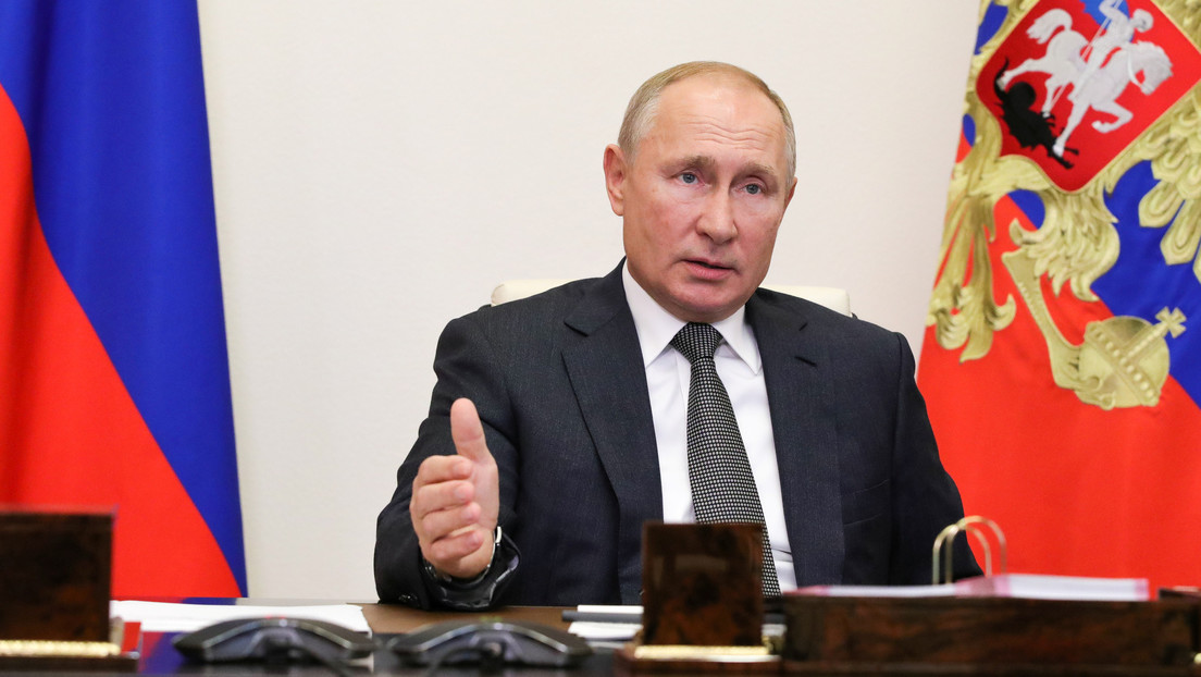 Putin propone a EE.UU. un programa integral para restaurar la cooperación en el campo de la seguridad de la información internacional