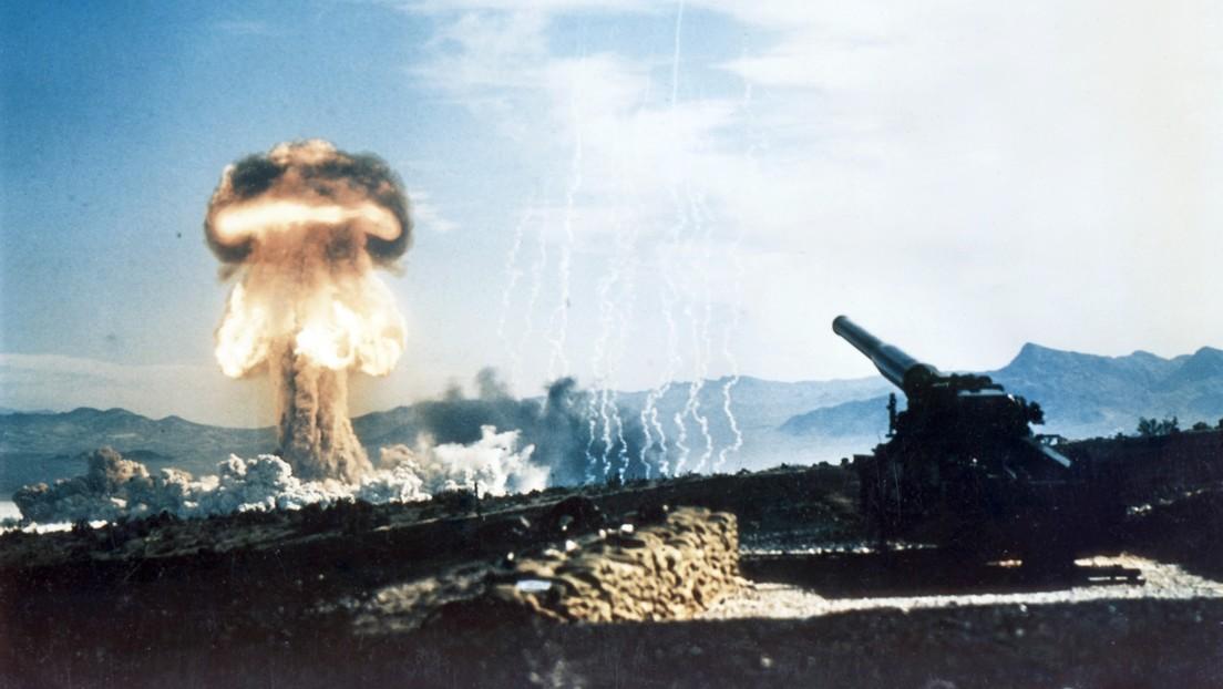 VIDEO: El único ensayo de un cañón nuclear en la historia, restaurado en 4K y a 48 imágenes por segundo