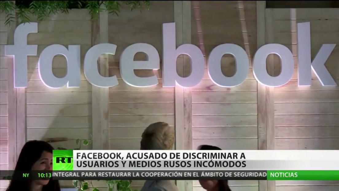 Rusia denuncia una discriminación contra sus usuarios por parte de Facebook