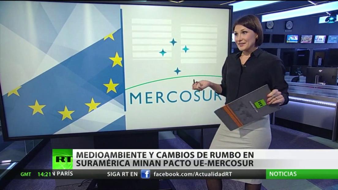 El tema del medioambiente y cambios de rumbo en Sudamérica minan el acuerdo Mercosur-UE
