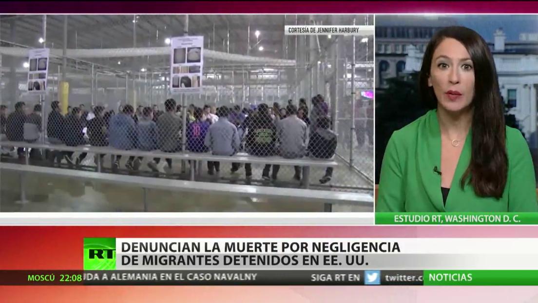 Denuncian la muerte por negligencia de migrantes detenidos en EE.UU.