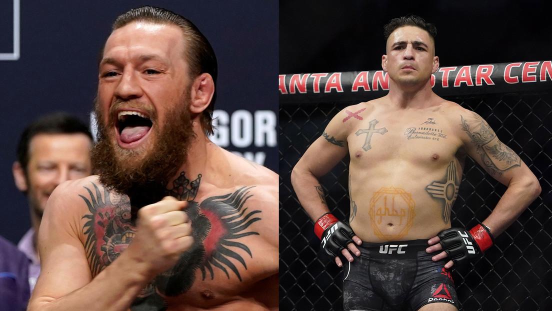 Conor McGregor acepta enfrentarse a Diego Sánchez en su última salida al octágono, poniendo fin a su retirada de las MMA thumbnail