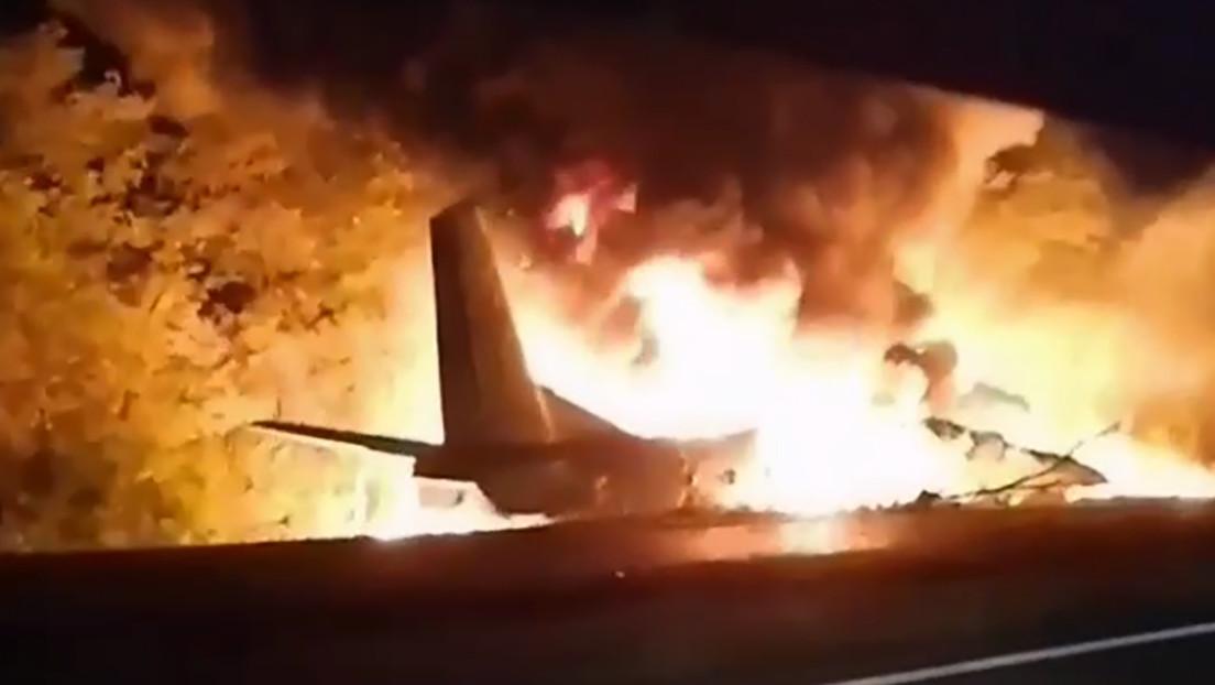 El único superviviente del avión militar en Ucrania cuenta qué recuerda del momento del accidente