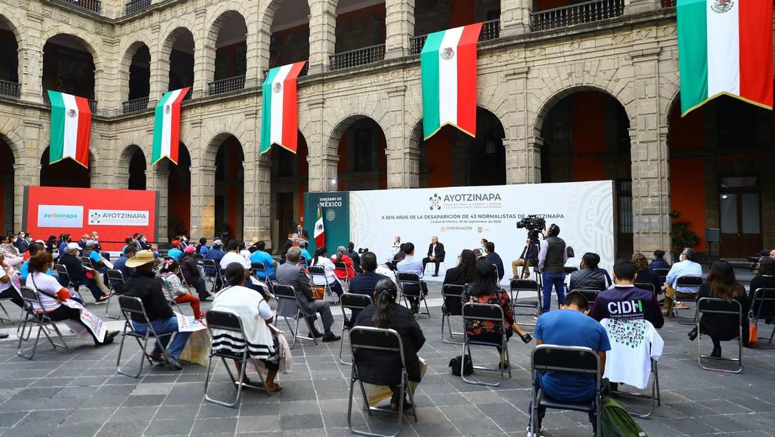 Las autoridades de México presentan un informe sobre el avance del caso Ayotzinapa a 6 años de la desaparición de los 43 normalistas