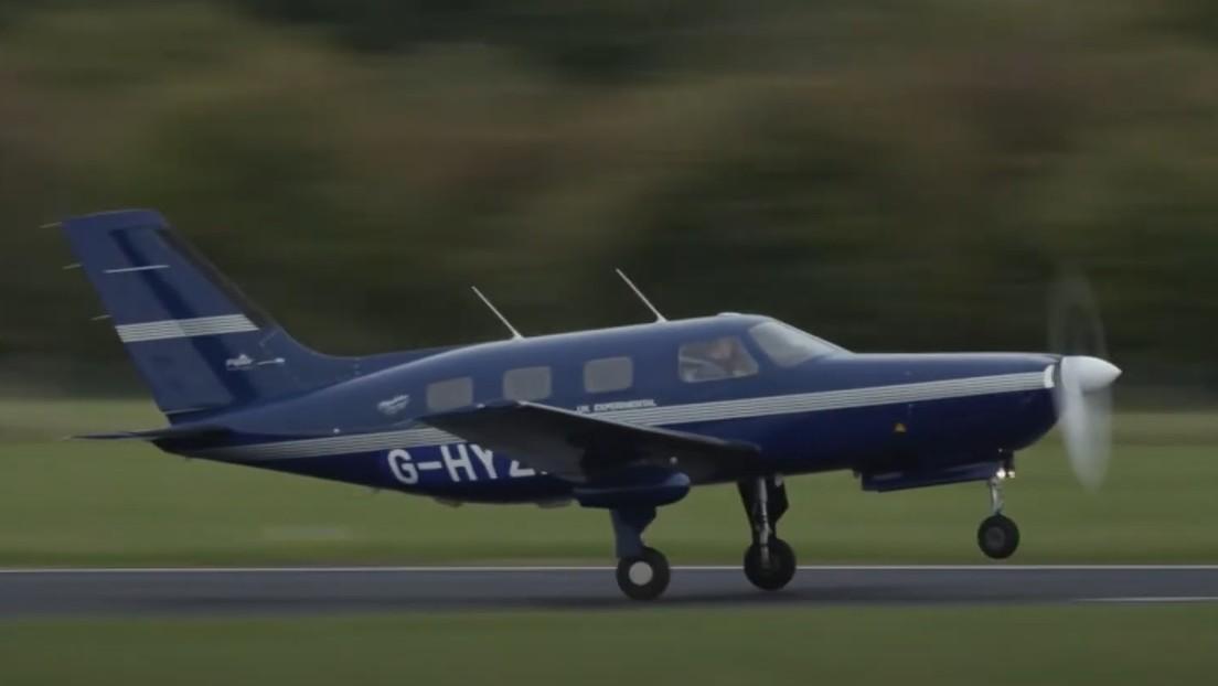 El primer avión de pasajeros del mundo propulsado por hidrógeno completa su vuelo inaugural (VIDEO)