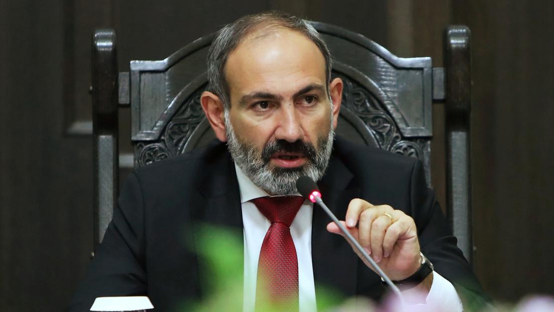 """Primer ministro de Armenia: """"Azerbaiyán declaró la guerra al pueblo armenio"""""""