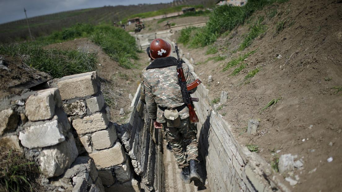 Anuncian la movilización general y el estado de guerra en la región de Nagorno Karabaj tras la escalada entre Armenia y Azerbaiyán