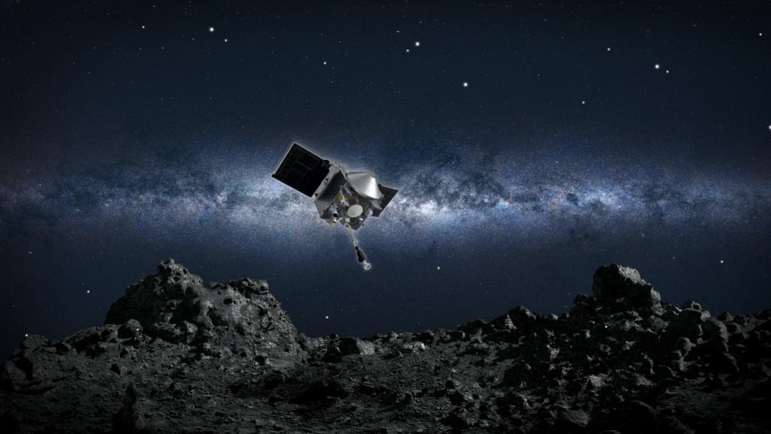 Sonda de la NASA para tomar muestras de la superficie del asteroide Bennu por primera vez