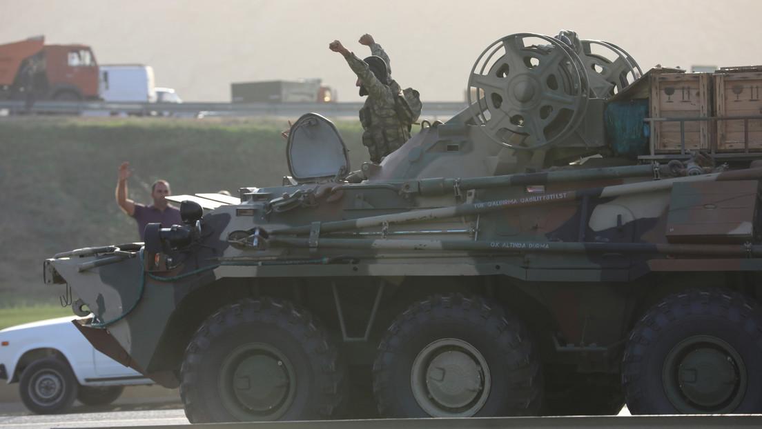 Armenia afirma que Azerbaiyán perdió unos 200 militares, 30 blindados y 20 drones durante las hostilidades en Nagorno Karabaj