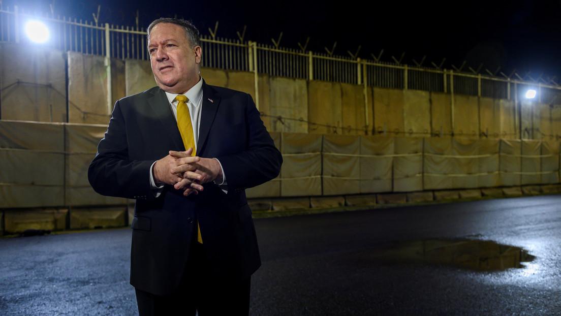 Reportan que EE.UU. advirtió a Irak de que puede cerrar su Embajada en Bagdad