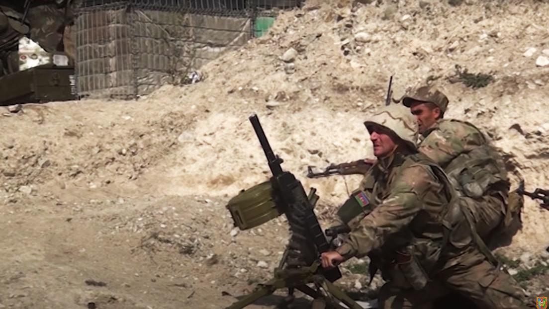 VIDEO: Azerbaiyán muestra imágenes de una nueva ofensiva en Nagorno Karabaj