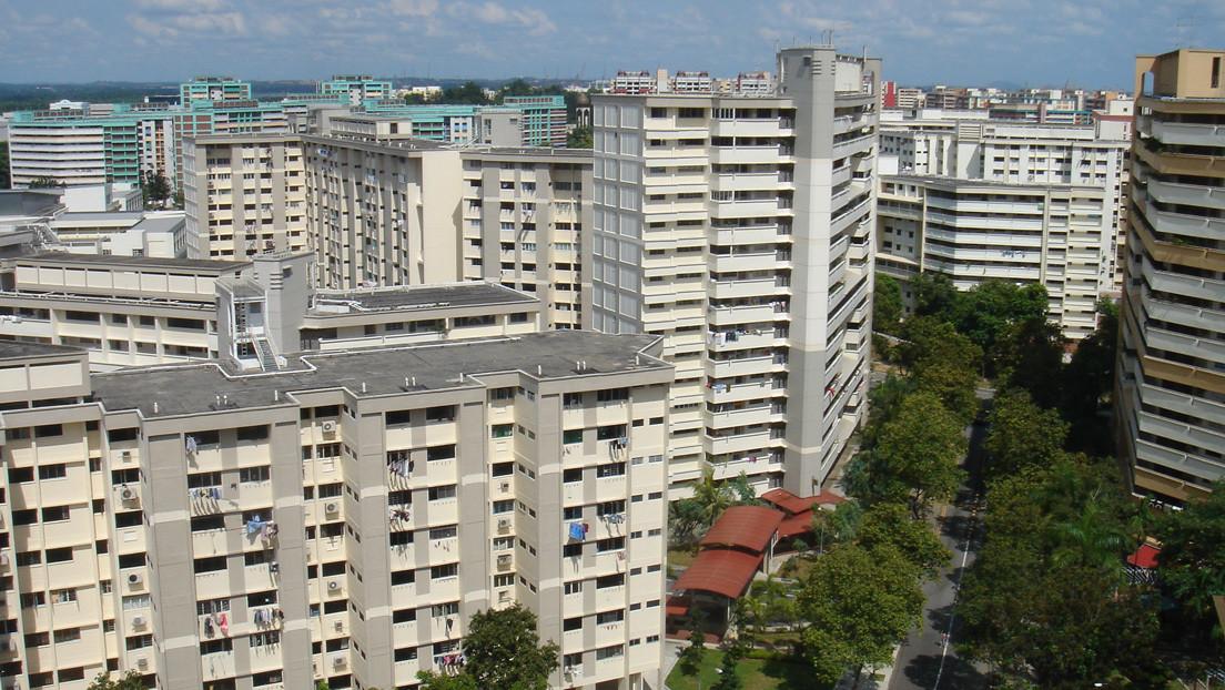 Una sirvienta huye por el balcón del piso 15 debido a los maltratos de su jefa