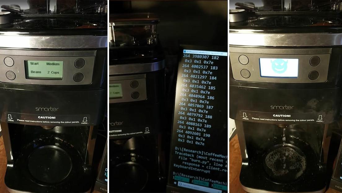 'Hackean' una cafetera y hacen que se salga de control y exija un rescate (VIDEO)